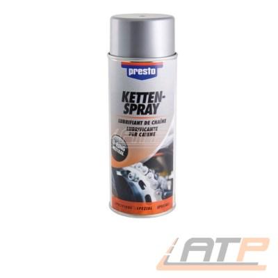 1x 400ml Presto Kettenspray Kettenfett Kettensprühfett Kettenpflege Kettenöl Spray Spraydose Dose 306390