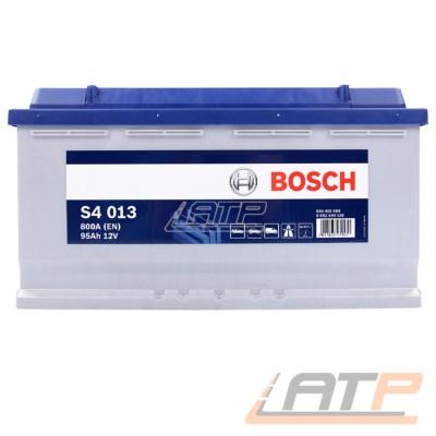 BOSCH S4 013 95-AH 12-V 800-A AUTOBATTERIE STARTERBATTERIE PKW KFZ BATTERIE ERSETZT 87-AH 88-AH 90-AH 92