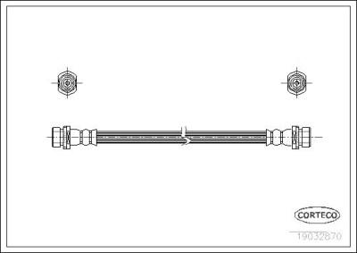 Teilebild Bremsschlauch