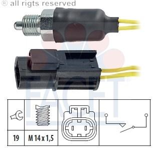 Teilebild Schalter, Rückfahrleuchte