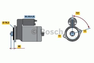 Bosch 0001123036 Starter