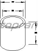 Topran 100053 Buchse, Starterwelle