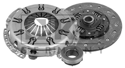 Teilebild Kupplungssatz
