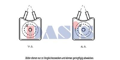 Teilebild Ölkühler, Motoröl