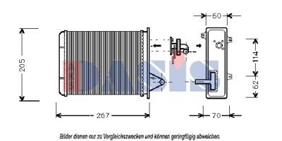 Teilebild Kühler, Motorkühlung
