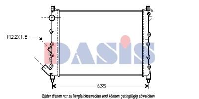 Teilebild Kühler, 560x415