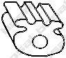 BOSAL Anschlagpuffer, Schalldämpfer 255-795